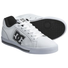 DC Shoes Stock Skate Shoes - Leather (For Men) in White/Black - Closeouts
