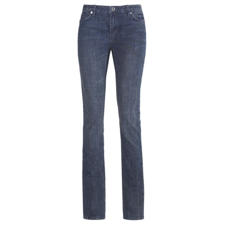 DC Shoes Straight Jeans - Low Rise (For Women) in Raw Dusk