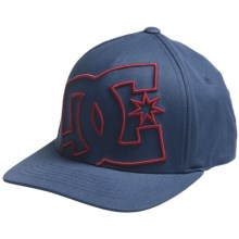 DC Shoes Swoll Up 2 Hat - Flex Fit (For Men) in Pacific Blue - Closeouts