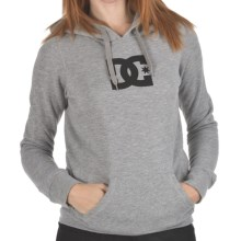 DC Shoes T-Star E Pullover Hoodie Sweatshirt (For Women) in Heather Grey - Closeouts