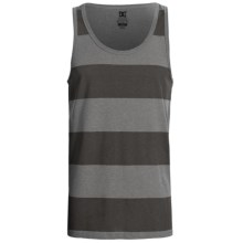 DC Shoes Tank Stripe Tank Top (For Men) in Heather Grey - Closeouts