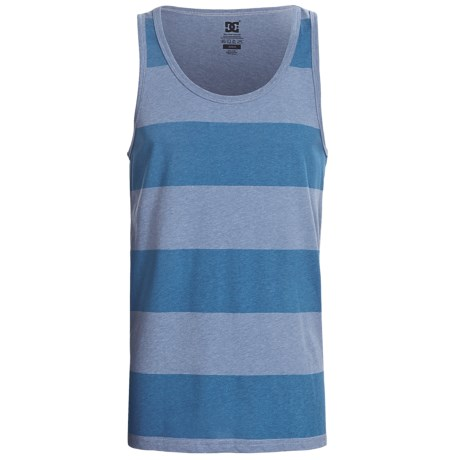 DC Shoes Tank Stripe Tank Top (For Men) in Pacific Blue