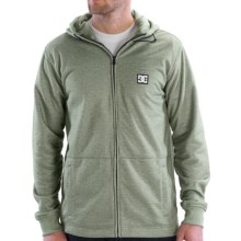 DC Shoes Tech Texture Hoodie Sweatshirt - Water Repellent, Fleece Lined (For Men) in Pine - Closeouts