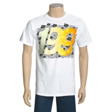 DC Shoes TP 199 Glow T-Shirt - Short Sleeve (For Men) in White - Closeouts