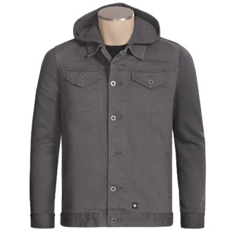 DC Shoes Transmission Twill Jacket (For Men) in Castlerock