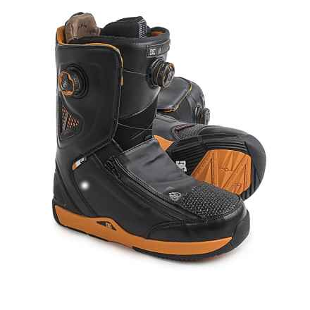 DC Shoes Travis Rice BOA® Snowboard Boots (For Men) in Black/Yellow - Closeouts