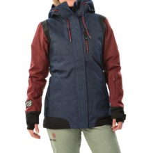 DC Shoes Truce SE Snowboard Jacket - Waterproof, Insulated (For Women) in Indigo Denim - Closeouts