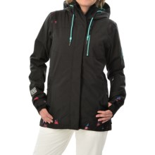 DC Shoes Truce Snowboard Jacket - Waterproof, Insulated (For Women) in Anthracite - Closeouts