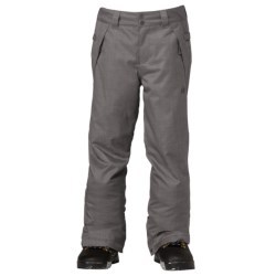 DC Shoes Venture Snowboard Pants - Insulated (For Boys) in Black