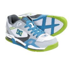 DC Shoes Versaflex Skate Shoes (For Men) in White/Armor/Turquoise - Closeouts