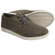 DC Shoes Village Low Shoes - Suede (For Men) in Olive/Turtle Dove - Closeouts