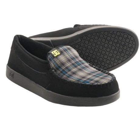 dc shoes villain skate shoes slip ons for save 30