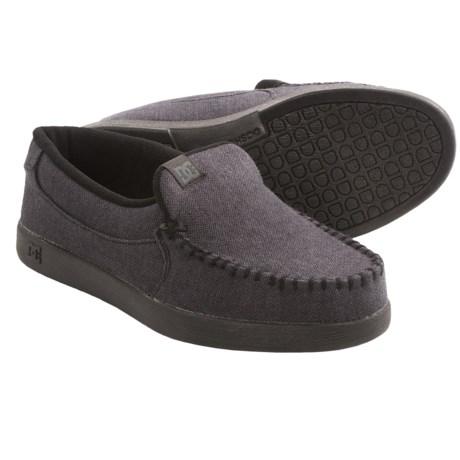 DC Shoes Villain TX Shoes - Slip-Ons (For Men) in Jet Black