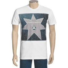 DC Shoes Walk of Stars T-Shirt - Short Sleeve (For Men) in White - Closeouts