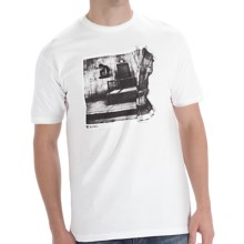 DC Shoes Wall Ride T-Shirt - Short Sleeve (For Men) in White - Closeouts