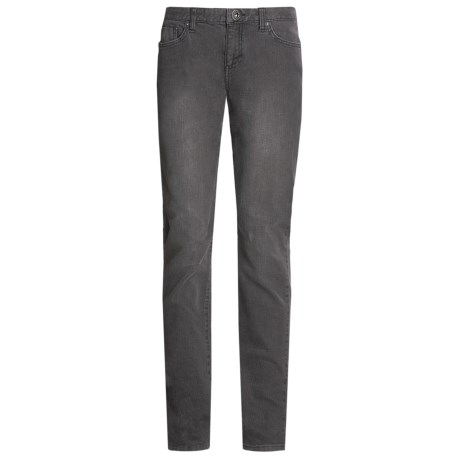 DC Shoes Westwood Denim Jeans - Straight Leg (For Women) in Faded Black
