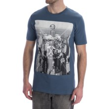 DC Shoes Wordly T-Shirt - Short Sleeve (For Men) in Dark Denim - Closeouts