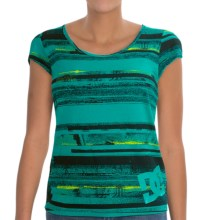 DC Shoes You Wish T-Shirt - Short Sleeve (For Women) in Tropical Green - Closeouts