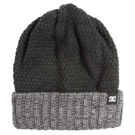 DC Shoes Zina Beanie - Reversible (For Women) in Anthracite - Closeouts