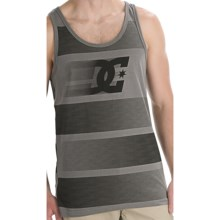 DC Shoes Zoomzoom Tank Top - Cotton Blend, Sleeveless (For Men) in Pewter - Closeouts