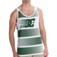 DC Shoes Zoomzoom Tank Top - Cotton Blend, Sleeveless (For Men) in White - Closeouts