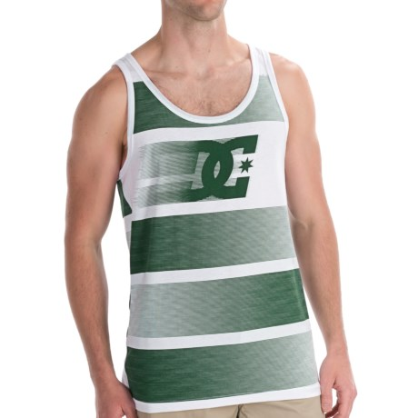 DC Shoes Zoomzoom Tank Top - Cotton Blend, Sleeveless (For Men) in White