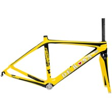 De Rosa 838 Frame Set in Black/Yellow - Closeouts