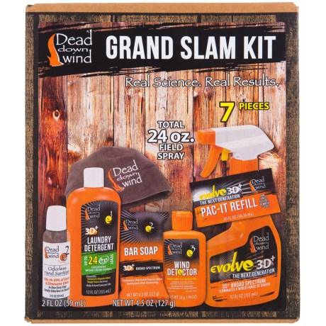 Dead Down Wind Glam Slam Odor-Control Kit - 7-Piece in See Photo