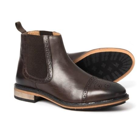 Image of Deadbolt Chelsea Boots - Leather (For Men)