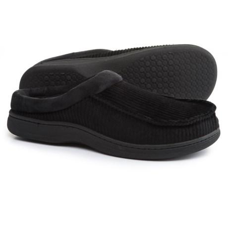 Dearfoams Corduroy Moc-Toe Clog Slippers (For Men)