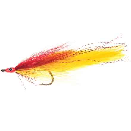 Deceiver Streamer Fly - Dozen in Red/Yellow - Closeouts