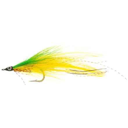 Deceiver Streamer Fly - Dozen in Yellow/Green - Closeouts