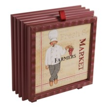 Deco Breeze Debbie Taylor-Kerman Tabletop Fan - Wood in Farmers Market - Closeouts