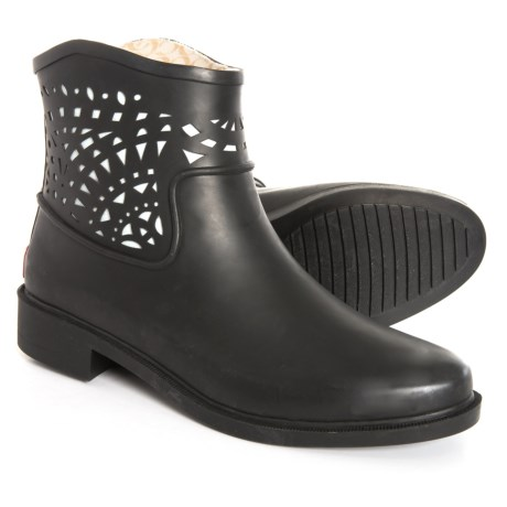 Image of Deco Laser Cut Boots - Waterproof, Slip-Ons (For Women)