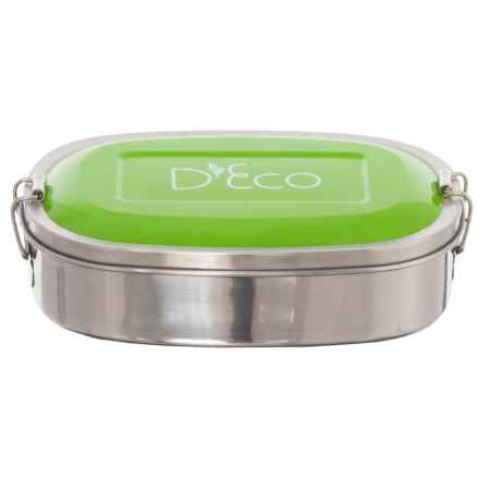 D'Eco Stainless Steel Lunch and Food Storage Container in Green - Closeouts
