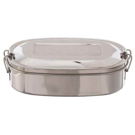 D'Eco Stainless Steel Lunch and Food Storage Container in Stainless Steel - Closeouts