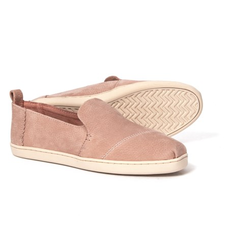 Image of Deconstructed Alpargata Shoes, Nubuck, Slip-Ons (For Women)