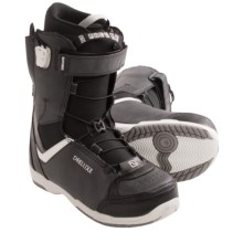 Deeluxe Alpha Snowboard Boots (For Men) in Black/Grey - Closeouts