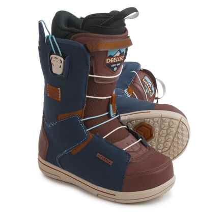 Deeluxe Choice PF Snowboard Boots (For Men) in Navy/Brown - Closeouts