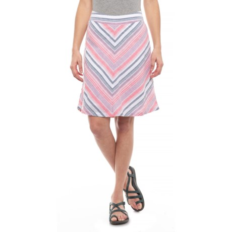 Image of Deep Sea Coral Sandpiper Skirt (For Women)