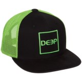 Deep Square Trucker Hat