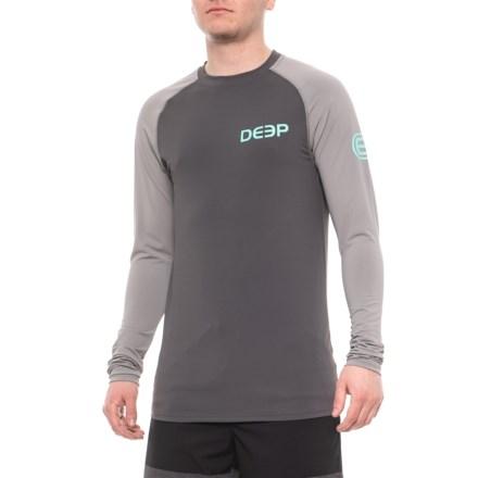523a64ca Deep Varsity High-Performance Pullover Shirt - UPF 30, Long Sleeve (For Men