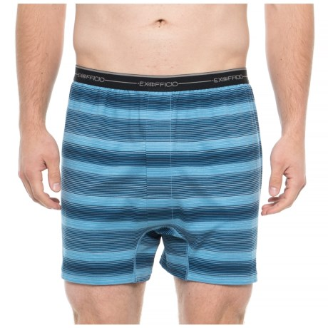 Image of Deep Water Ombre Sol Cool Printed Boxer Briefs (For Men)