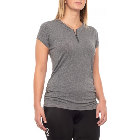 Image of Deer Abby Cycling Jersey - Zip Neck, Short Sleeve (For Women)