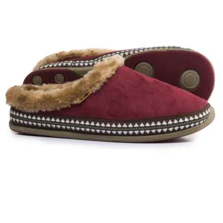 Deer Stags Anytime Slippers (For Women) in Raspberry - Closeouts