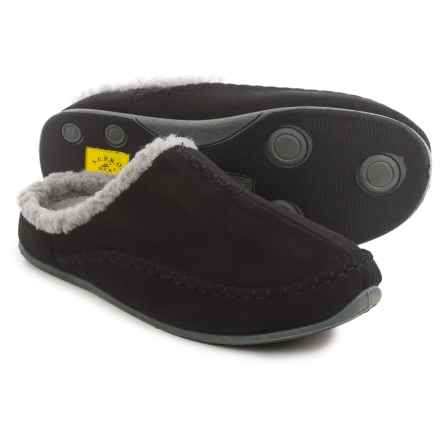 Deer Stags Arctic Slippers (For Men) in Black - Closeouts
