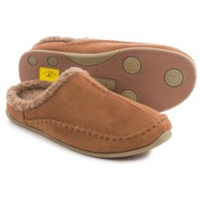 Deer Stags Arctic Slippers (For Men) in Chestnut - Closeouts