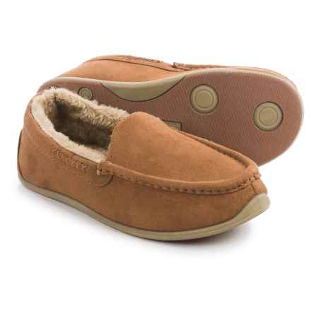 Deer Stags Birch Slippers (For Women) in Chestnut - Closeouts
