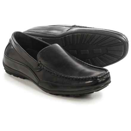 Deer Stags Drive Loafers - Vegan Leather (For Men) in Black - Closeouts