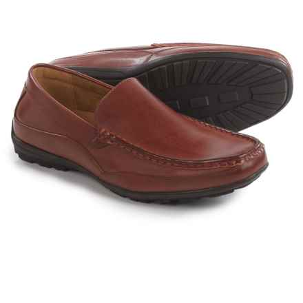 Deer Stags Drive Loafers - Vegan Leather (For Men) in Dark Brown - Closeouts